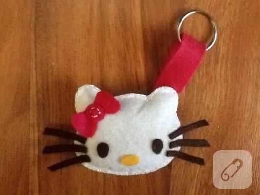 Hello kitty anahtarlık