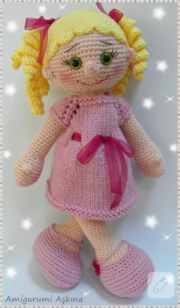 Amigurumi Lola bebek 10marifet.org