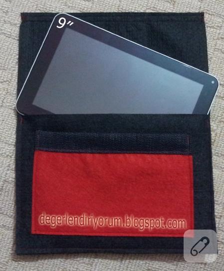 Keçe tablet PC kılıfı