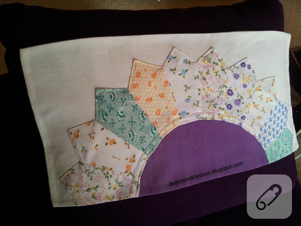 yarım-ayçiçek-patchwork-yastık yüzü-2