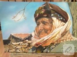 Yağlı boya portre