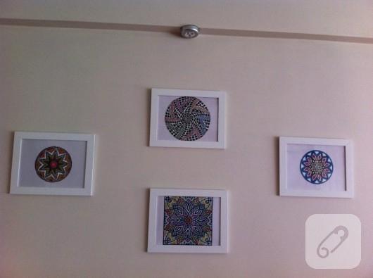 Mandalalardan tablo