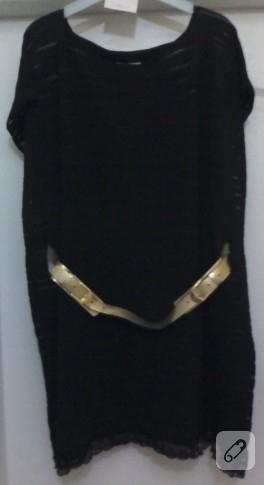 Örme kumaş bluz/tunik