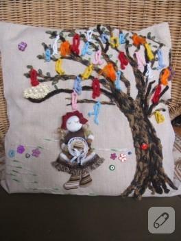 Yünden dilek ağacı
