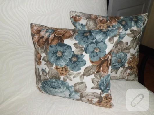 Çiçekli yastıklar