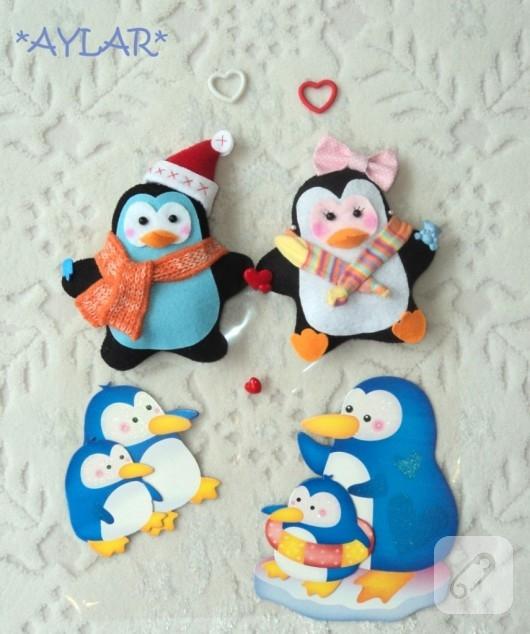 Keçe penguenler