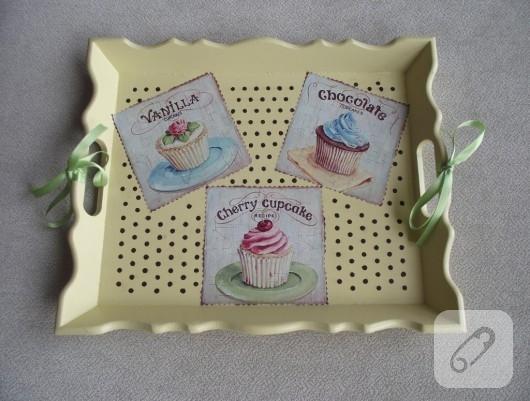 Cupcake tepsi
