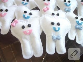 keçe diş şekeri