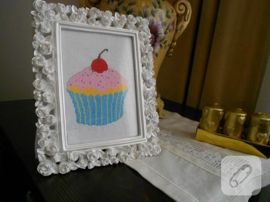 Kanaviçe cupcake