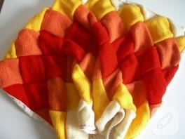 Kış soğukları için entrelak battaniye