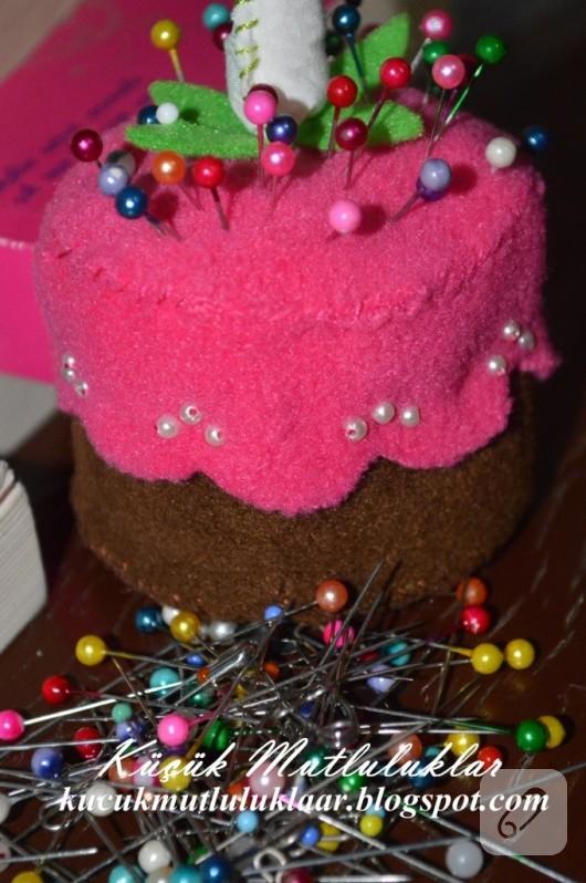 Cupcake iğnelik
