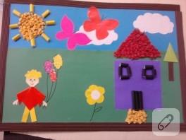 Çocuk faaliyetleri el işi çalışmaları