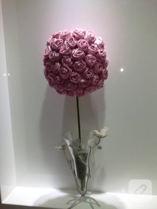Kağıttan güller