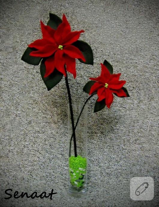 polar çiçek yapımı