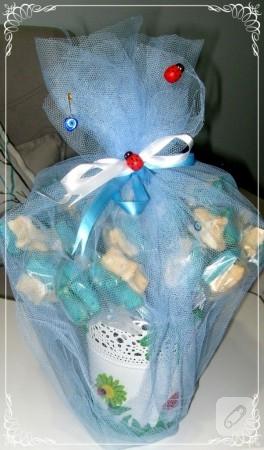 Bebek şekeri kurabiyeler