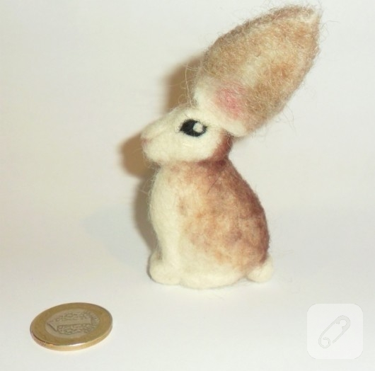 Keçe tavşan