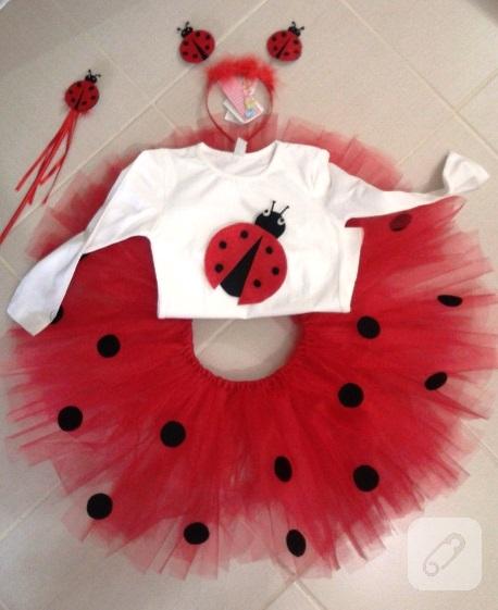 Uğur böceği kostümü