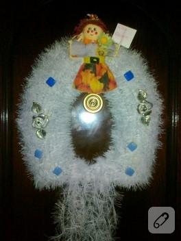 Sakallı kapı süsü