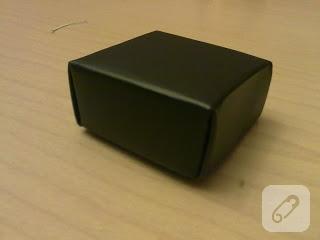 Origami kutu yapımı
