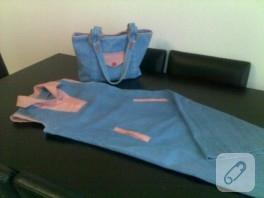 Elbise çanta takımı