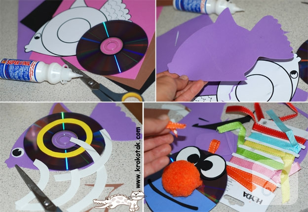 how to make cd lilypads