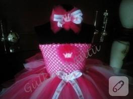 Prenses taçlı tütü elbise