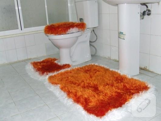 Sakallı ipten banyo takımı