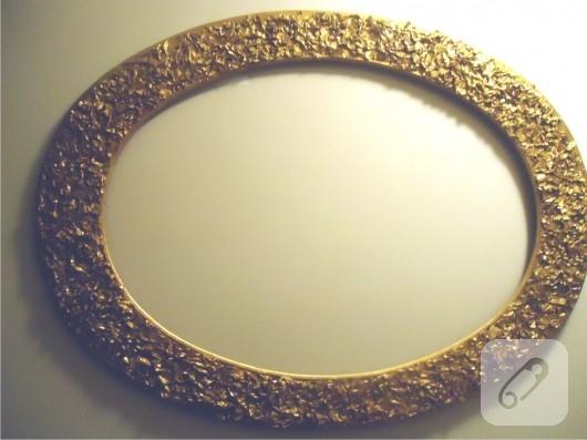 Ayna çerçevesi süsleme