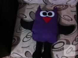 Kumaş baykuş yaptım