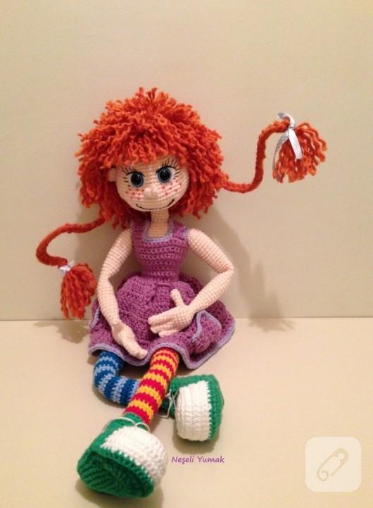 Amigurumi Pippi Yapilisi : amigurumi oyuncaklar