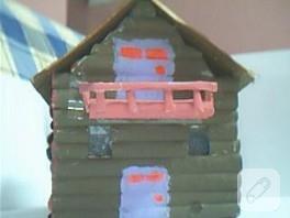 Karadeniz evi (el işi örnekleri)