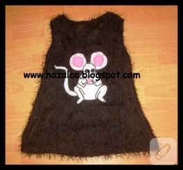 Bluzdan çocuk elbisesi