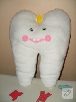 Keçe diş bebek