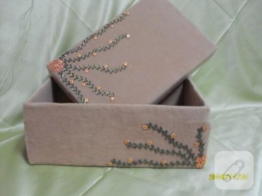 Ayakkabı kutusu süsleme