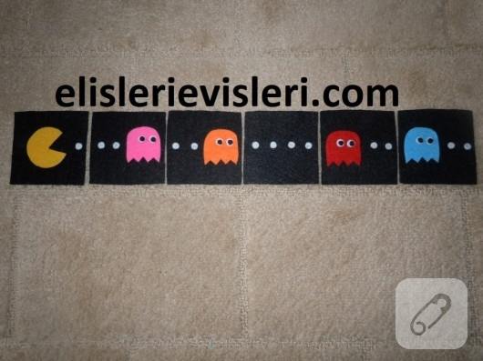 Pacman bardak altlıkları