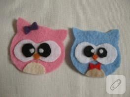 Ornitorenk Handmade'in keçe çifte kumruları