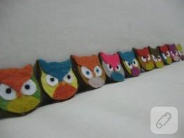 Ornitorenk Handmade ve Hogwarts (keçe)