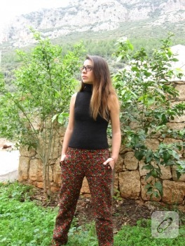 Ornitorenk Handmade'den pazen pantolon