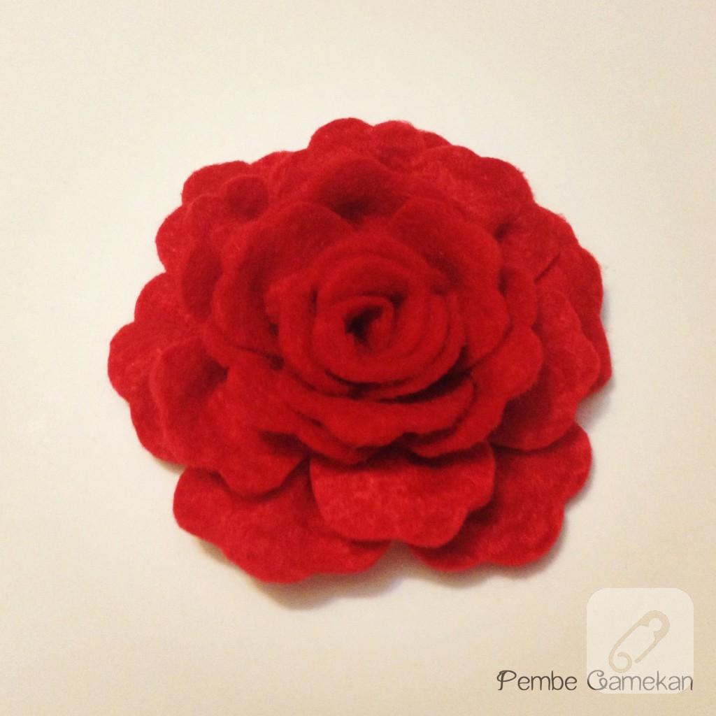 nar çiçeği kırmızı gül