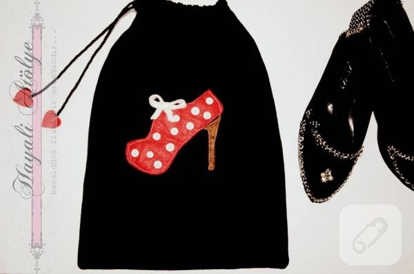 polar ayakkabı çantası
