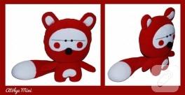 Kırmızı rakun (el dikişi)