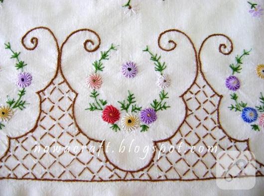 рококо вышивка цветок-операция должна охватывать в-случае-таблицы-1