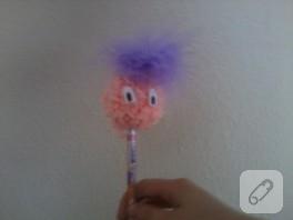 Şeker bir kalem süsü yapımı