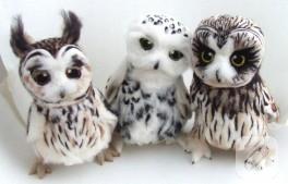 Keçe baykuşlar