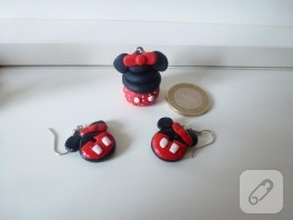 Minnie Mouse takı seti
