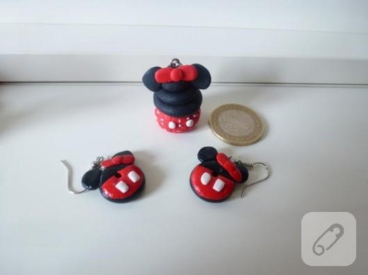 Minnie Mouse takı seti