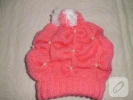 Kız çocuklara şapka