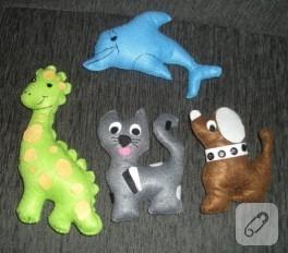Keçe oyuncak modelleri
