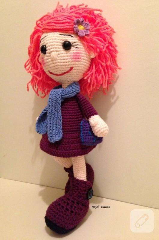 Niloya Amigurumi Free Pattern Doll Oyuncak Bebek : Amigurumi bebekler