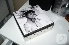 Audrey Hepburn aşkına, kutu boyama